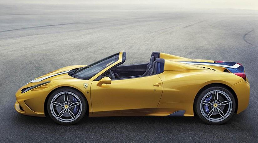 hire Ferrari-458-Aperta