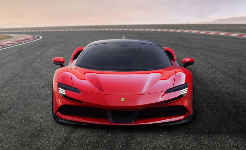 hire Ferrari-SF90