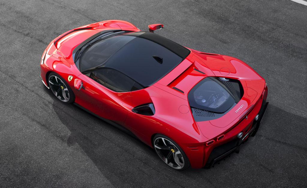 aluguel Ferrari-SF90