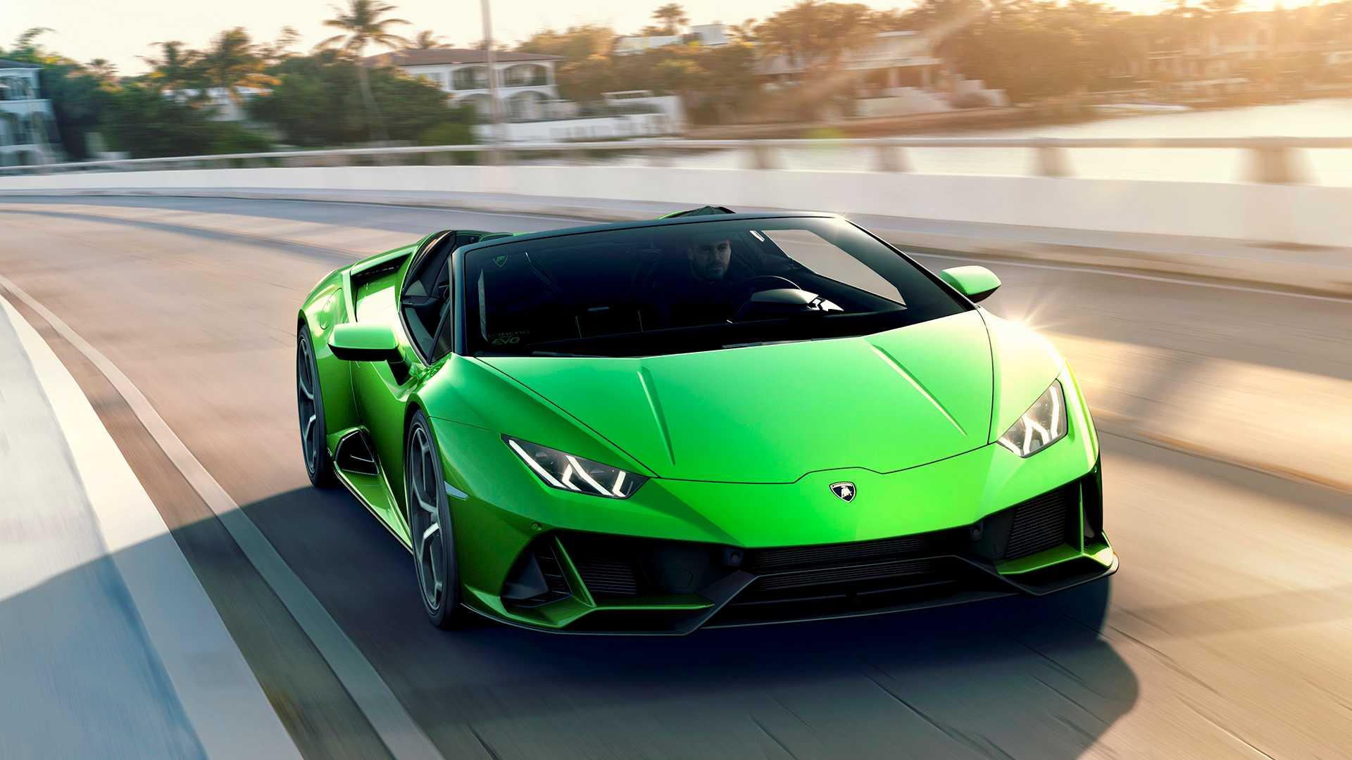 aluguel Lamborghini-Huracan-Evo-Spyder