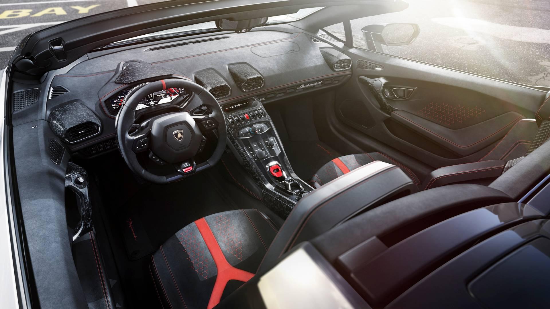 hire Lamborghini-Huracan-Performante-Spyder