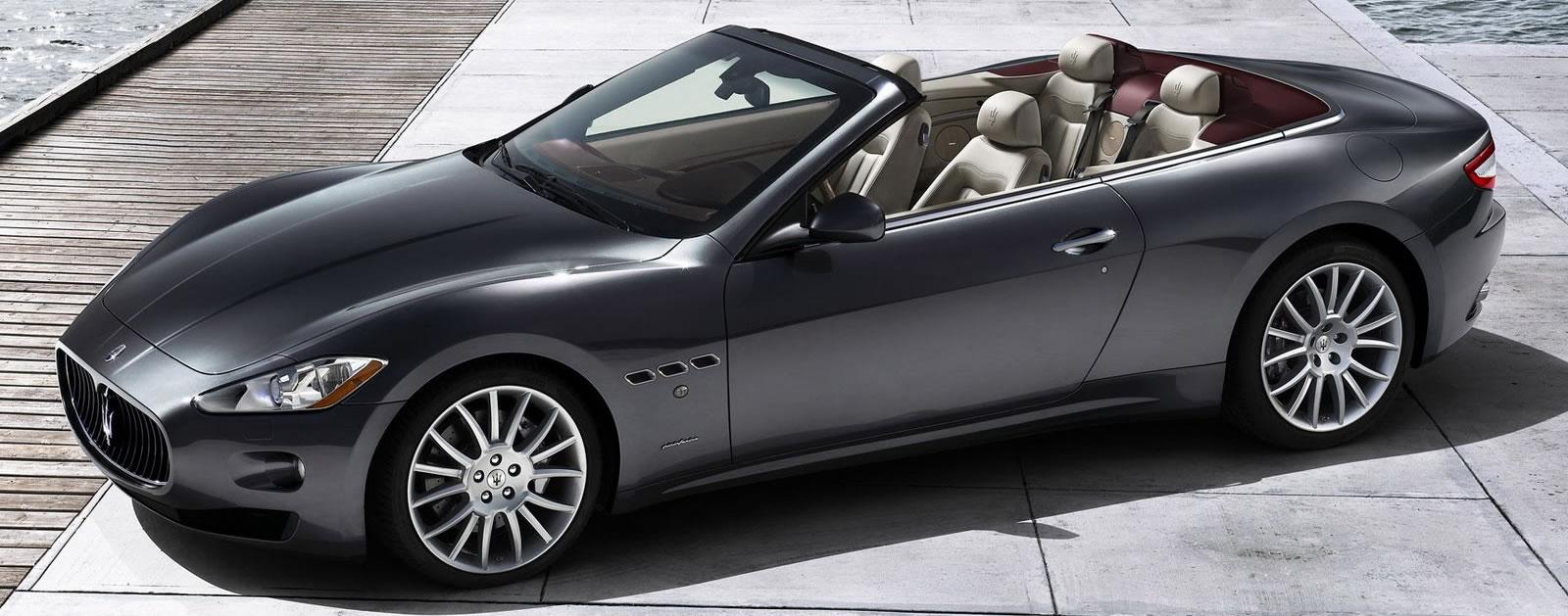 hire Maserati-Grancabrio