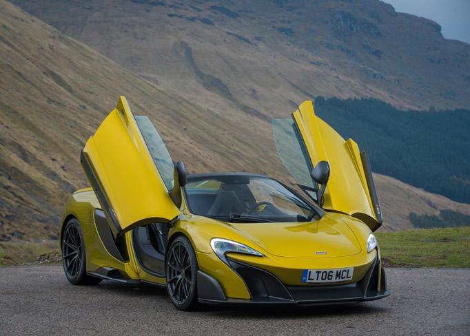 rent McLaren-675-LT-Spider