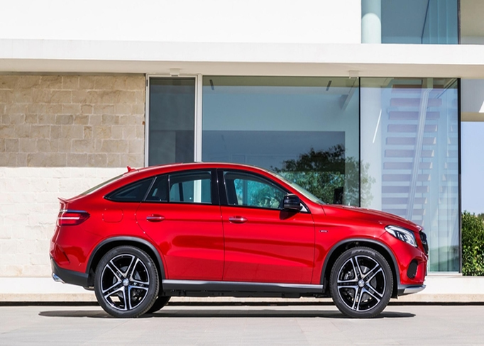 hire Mercedes-GLE-Coupe