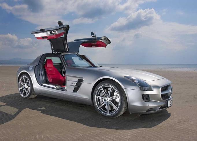Louer une Mercedes-SLS