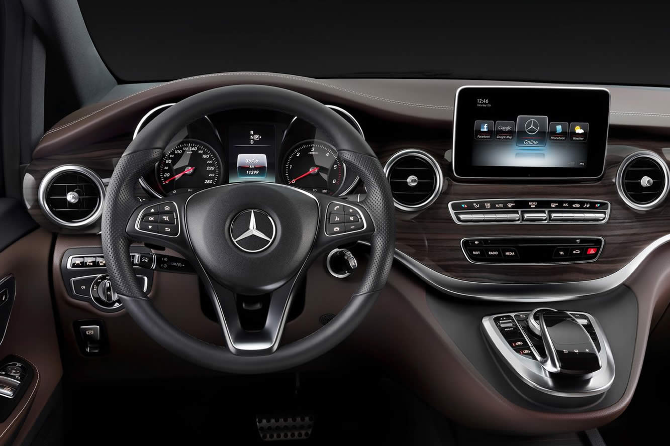 hire Mercedes-V-class