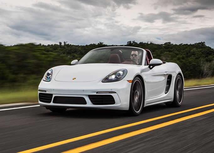 Louer une Porsche-Boxter