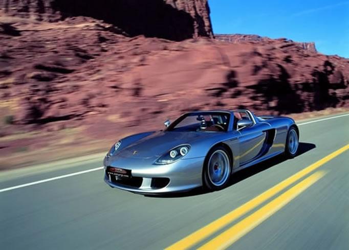hire Porsche-Carrera-GT