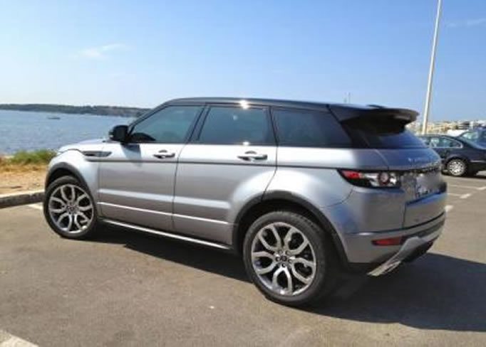rent Range-Rover-Evoque