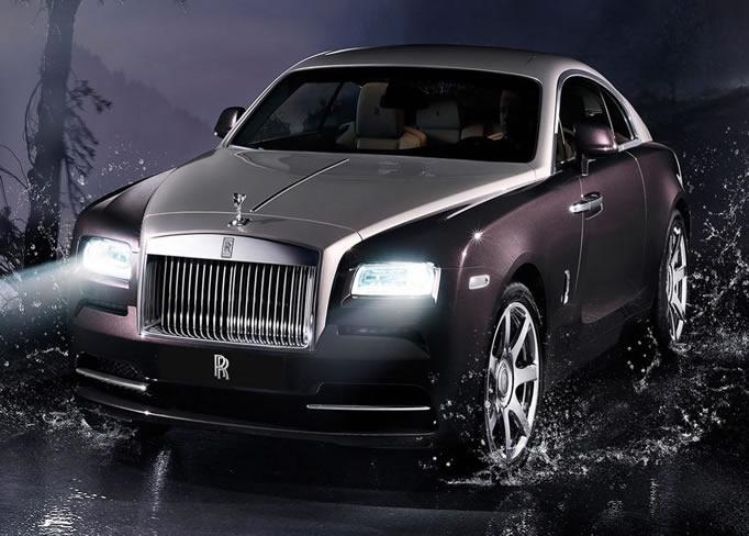 hire Rolls-Royce-Wraith