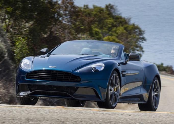 Rent Aston Martin Vanquish Volante CannesNiceMonacoSt Tropez - Aston martin vanquish rental
