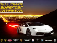 JUST 4 VIP Supercar tour